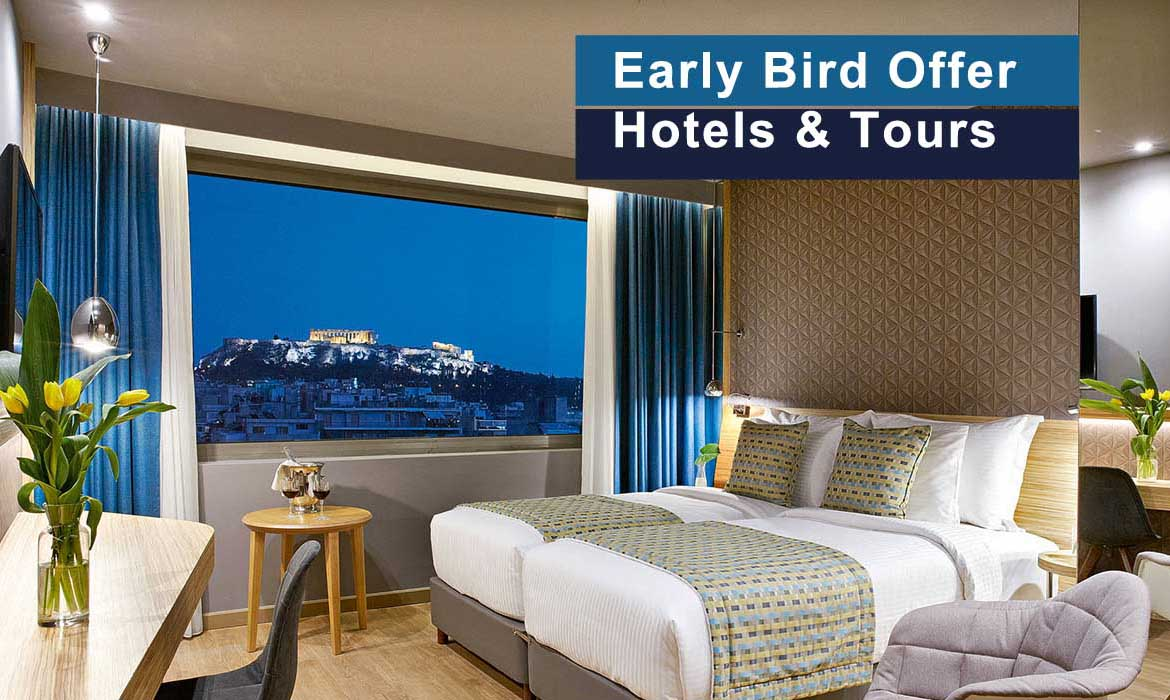 Early Bird Discount in Athens Hotels & Tours