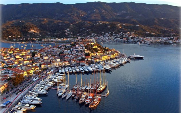 Poros Island, the child Of Metis and Zeus